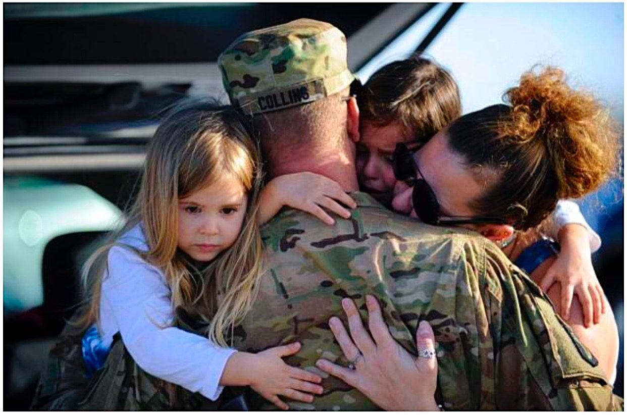itun soldier homecoming heartwarming - HD 1242×822